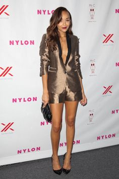Ashley Madekwe: NYLON And Sony X Headphones September TV Issue Party Hosted By Lea Michele