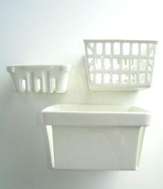 Image of Porcelain Berry Baskets