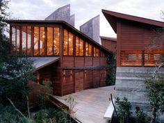 Atlantic Center for the Arts, New Smyrna Beach, FL USA by Charles Rose Architects , via Behance