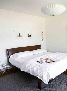 via Design*Sponge | Modernica Case Study Alpine Bed | https://modernica.net/shop/case-studyr-alpine-bed