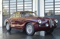 "Alfa Romeo 1900 Sprint The first ""GT"" of the Italian school built in series, the reach of many."