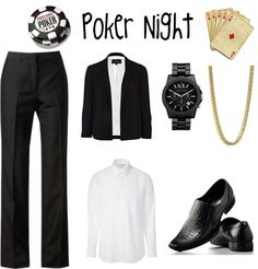"""Poker Night"" by paigielovestao on Polyvore"