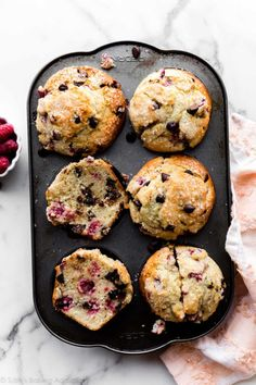 Muffin Recipes, Baking Recipes, Breakfast Recipes, Dessert Recipes, Desserts, Cupcake Recipes, Jumbo Muffins, Sallys Baking Addiction, Chocolate Chip Muffins