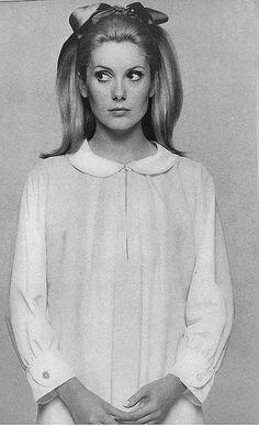 catherine deneuve  vogue 1966