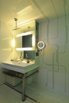 contemporary bathroom by Sonali shah
