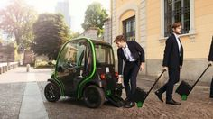 With some electric scooters and bicycles, users can remove the vehicle's battery and take it with them to charge indoors. Now, Italian automaker Estrima is offering that same feature in its Birò electric car.