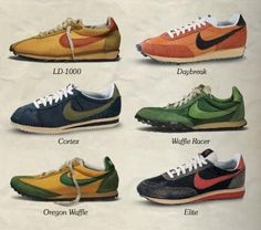 2014 cheap nike shoes for sale info collection off big discount.New nike roshe run,lebron james shoes,authentic jordans and nike foamposites 2014 online. Vintage Sneakers, Vintage Shoes, Vintage Nike, Nike Cortez Vintage, Sneakers Mode, Sneakers Fashion, Ladies Sneakers, Nike Sneakers, Nike Running