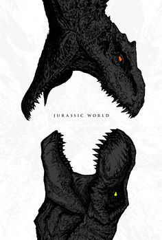 Jurassic World - - Post with 2903 views. Jurassic World. Jurassic Movies, Jurassic Park Series, Jurassic Park World, Jurassic World Movie Poster, Jurassic Park Poster, Jurassic World Indominus Rex, Jurassic World Fallen Kingdom, Dinosaur Drawing, Dinosaur Art