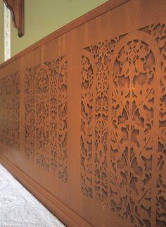 Border Stencils | Carved Arch Classic Panel | Royal Design Studio