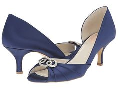 Paradox London Pink Amelia Navy Satin - Zappos.com Free Shipping BOTH Ways