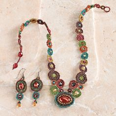 Maya Beaded Jewelry - National Geographic Store earrings $24