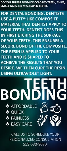 #Hanford, #CA residents can find out more about #affordable #teethBonding costs. Call Dr. Nikunj Raiyani. at 559-530-8080 today. #dental #dentist #tooth #dentures #oralcare #dentistry Teeth Bonding, Dental Bonding, Call Dr, Dental Services, Dentistry, Tooth, How To Find Out, Surface
