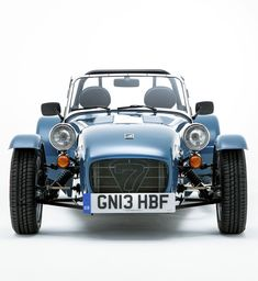 This Caterham Seven 160 is one of the latest iterations of Colin Chapman's Lotus 7.
