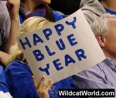 """Happy """"BLUE"""" Year!"""