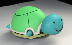 Turtle Toy put together