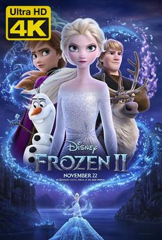 Frozen 2 (stylized as Frozen II) is an American computer-animated musical fantasy film produced by Walt Disney Animation Studios. The film produced by the studio, it is the sequel to the 2013 film Frozen. Film Frozen, Frozen Disney, Princesa Disney Frozen, Film Disney, Disney Movie Posters, Frozen Frozen, Disney Magic, Disney Movies Free, Frozen 2013