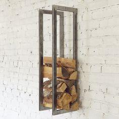 Полка для дров в стиле лофт