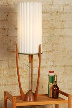 Mid Century Danish Modern Adrian Pearsall Lamp by midcentury8, $595.00