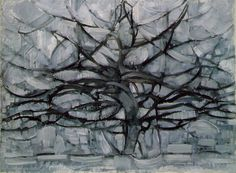 Piet Mondrian: Gray Tree