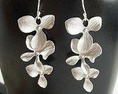 Orchid earings love it....Gift. $23.28, via Etsy.