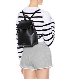 Leather Mini Backpack | Mansur Gavriel - mytheresa