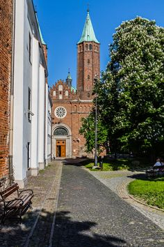 Cathedral Basilica in Plock, Poland