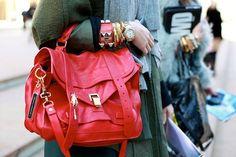 Red Proenza Schouler bag
