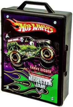 Amazon.com: Hot Wheels Monster Jam Truck Case: Toys & Games