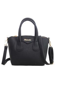 Belanja Fashion Women PU Leather Handbag Messenger Bag (Black) - Int: One size Indonesia Murah - Belanja Top-handle Bag di Lazada. FREE ONGKIR & Bisa COD.