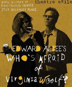 #PhillyCalendar - 4/16-5/17 @theatreexile Who's Afraid of Virginia Woolf? #PlaysandPlayers