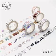 22 Designs Fashion Girl's Makeup Accessories Happy Life Tool Vintage Decorative Washi Tape DIY Diary Plan Scrapbook MaskingTape -in Office Adhesive Tape from Office & School Supplies on Aliexpress.com | Alibaba Group