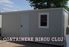 Containere Cluj Napoca de vanzare prin firma noastra, containere second hand sau containere noi produse in Romania, containere maritime si containere birou.