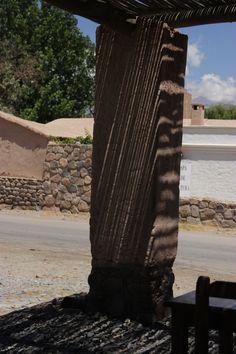 Detalle columna - Payogasta - Ruta40 - Salta - Argentina