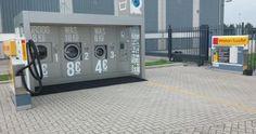 Wasmachine bij karwei/tankstation