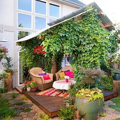 Welcoming Outdoor Room