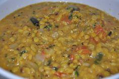 Mharo Rajasthan's Recipes - Rajasthan A State in Western India: Tadke Wala Chana Dal - तडके वाला चना दाल (Tempered...