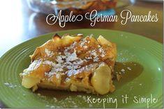 Keeping it Simple: Apple German Pancakes