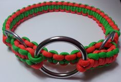 Martingale Dog Collar/Paracord Limited Slip Dog Collar by Bumbledoodles, $40.00  Custom sized and colors available!