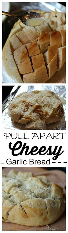 Complete any meal with this easy cheesy pull apart garlic bread! #TysonMealKits #Tyson #ad