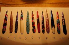 nail art for very long nails