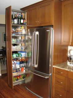 Pull Out Pantry Cabinet  I Need This So Bad, Anyone?