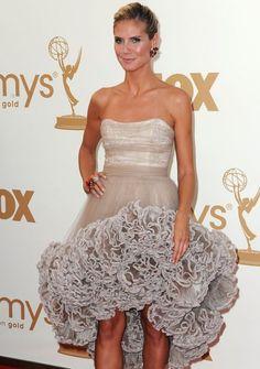 Heidi Klum in Christian Siriano  63rd Primetime Emmy Awards