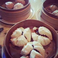 Had the most delicious steamed barbecue pork buns and xiao long bao in Shanghai
