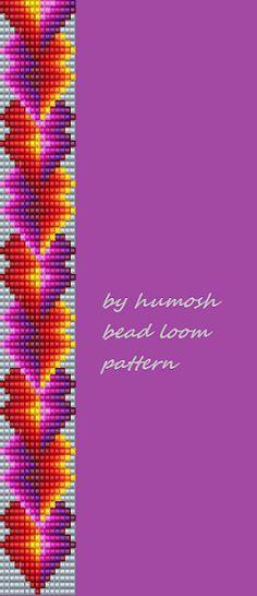 bead loom pattern by humosh116 by Humosh on Etsy