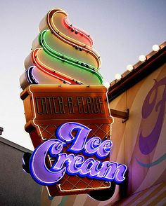 daveland blog neon ice cream