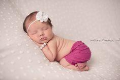 Newborn Ruffle Skirt, Baby Girl Skirt, Fuchsia Pink Baby Prop, Newborn Props, Baby Girl Photo Prop, Newborn Girls Props, Pink Baby Prop