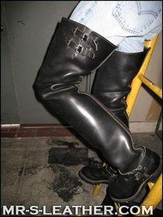 wesco big boss thigh high boots -