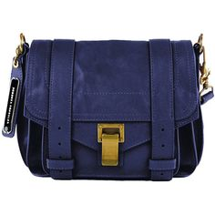 Proenza Schouler Mini PS1 Pouch ❤ liked on Polyvore
