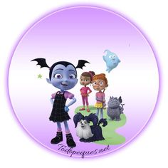 Vampirina stickers etiquetas para imprimir gratis | Todo Peques Vampire Theme Party, Bottle Cap Images, Ideas Para Fiestas, Dessert Table, Party Themes, Family Guy, Bear, Chopper, Fictional Characters