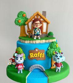 11th Birthday, Birthday Cakes, Birthday Parties, Animal Crossing, Mommys Boy, Party Themes, Party Ideas, Fondant Animals, Mario Party